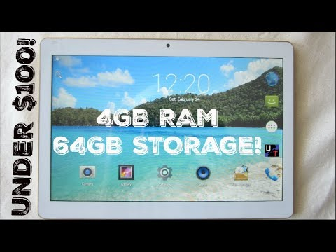 "LLLCCORP 10"" 4GB RAM On A $99 Dual SIM Android Tablet!! (Unboxing & 1st Impressions)"
