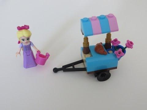 Vidéo LEGO Disney 30116 : La visite du marché de Raiponce