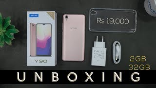 Vivo Y90 Unboxing in Pakistan | Price in Pakistan | 2GB / 32GB | Helio A22 | Gold