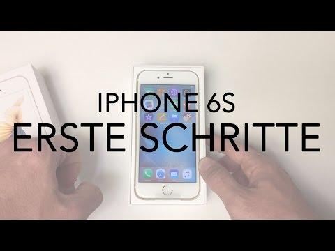 iPhone 6S Anleitung Installation und Ersteinrichtung
