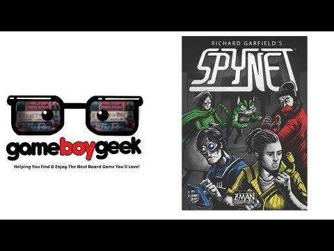 The Game Boy Geek Reviews Spynet