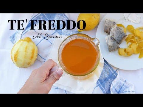 TE FREDDO FATTO IN CASA al Limone  FACILE e BUONISSIMO- Ricette di gabri