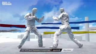 Come to MUJU Watch the trailer for the 2017WTF World Taekwondo Championships