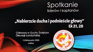 Spotkanie liderów ONLINE 14.11.2020 (cz. I)