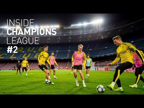 BVB enter Camp Nou & prepare for the match   Inside Champions League