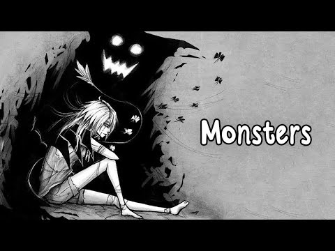 Nightcore - Monsters (Lyrics) download YouTube video in MP3