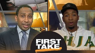 Donovan Mitchell talks NBA Rookie of the Year and Ben Simmons on First Take | First Take | ESPN