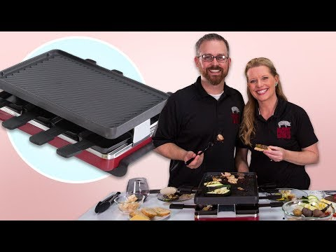How to Entertain Friends with the Raclette Grill  | Food 101 | Well Done