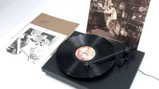 Led Zeppelin - Fool In The Rain (Official Vinyl Video)