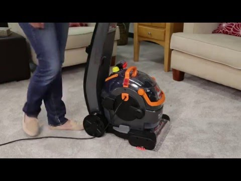 Lift-Off® Upright Carpet Cleaner - Loss of Suction Power