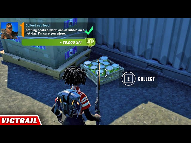 7 Day Challenge Fortnite Where To Find Cat Food In Fortnite Season 7 Week 3 Legendary Quests