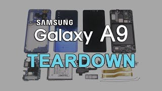 Samsung Galaxy A9 2018 Teardown | A9 Disassembly