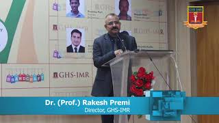 BrandCraft 2019 : Welcome Address by Dr. (Prof.) Rakesh Premi