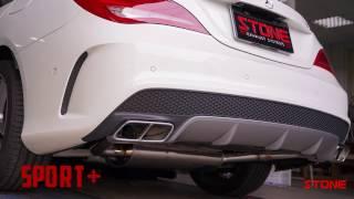 Mercedes-AMG M133 CLA45 SB STONE Exhaust Turbo-back