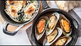 Two Ways To Cook Mussels