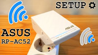 Asus RP-AC52 Wi-Fi extender • Unboxing, installation, configuration and test