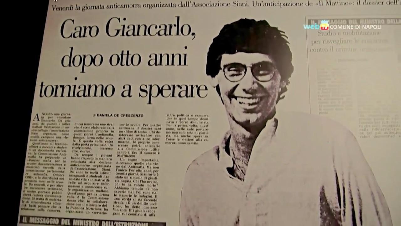 Il Mattino ricorda Giancarlo Siani