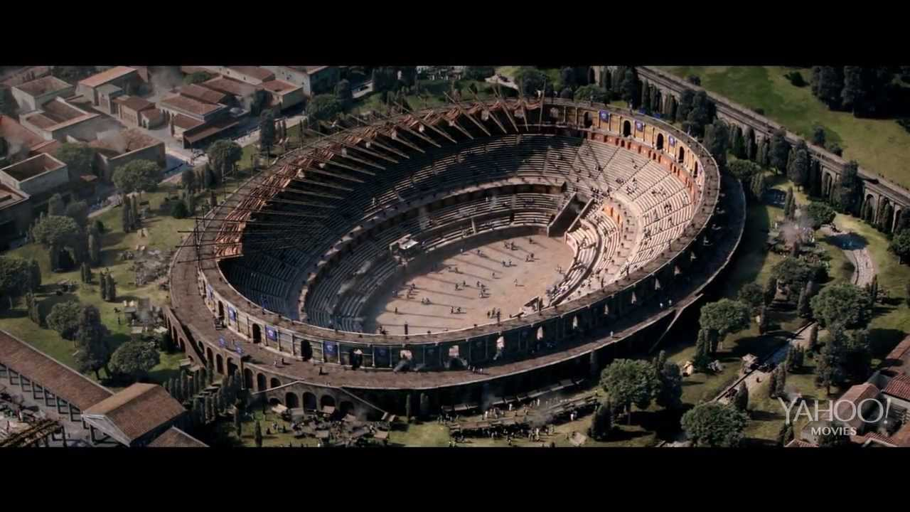 Movie Trailer:  Pompeii (2014)
