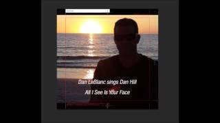 All i see is your face - Daniel LeBlanc (Dan Hill Cover)