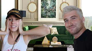 Surprising Girlfriend with Dream Living Room!