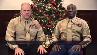2015 USMC Holiday Message (30 sec)