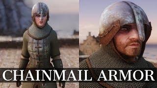 Skyrim Armor Mods - Chainmail Armor