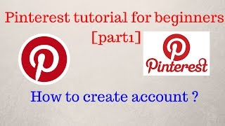 Pinterest tutorial for beginners in Hindi  [part1]