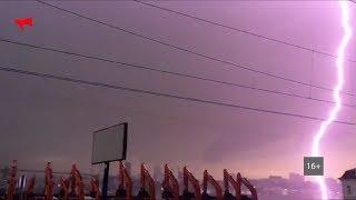 Гроза во Владивостоке 19.09.2017 г.