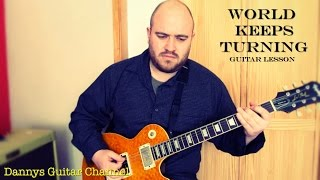 World Keeps Turning by Peter Green - Blues Guitar Lesson