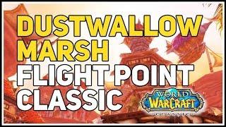 Dustwallow Marsh Horde Flight Master WoW Classic