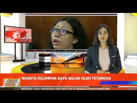 Video of Kepala Wanita di Pontianak Luka setelah Dilempar Kayu oleh Tetangganya