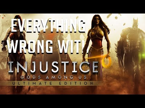 GamingSins: Everything Wrong with Injustice: Gods Among Us (Ultimate Edition)