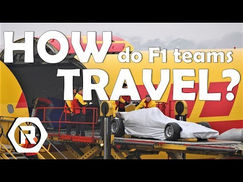 How do Formula 1 Teams Travel Around the World? - Thought of the Day #6