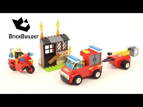 """Vidéo LEGO Juniors 10740 : La valisette """"les pompiers"""""""