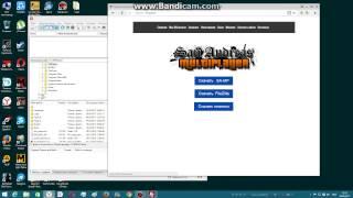 Как поставить серв самп на хостинг бесплатно настройка сайта в apache на bebian
