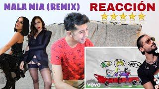 REACCIÓN: Maluma, Becky G, Anitta - Mala Mía (Remix - Lyric Video)