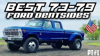 BEST 70s Ford Trucks   COMPILATION  