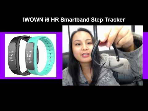 iWownFit i6 HR Smartband Review (Detailed!) Exactly What It Does & How To Start Using It