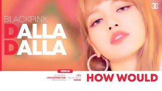 """How would BLACKPINK sing """"DALLA DALLA"""" (ITZY) Line Distribution [Color Coded]"""