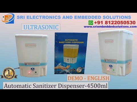 Automatic Hand sanitizer machine -4500 ml