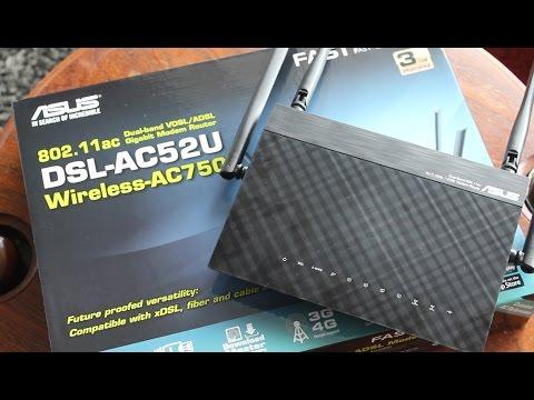 ASUS DSL-AC52U Modem Router Review - Great Value?