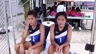 OBEC Young Beach Volleyball 2016 Inspired by Thai PBS - รวมความน่ารักของน้องๆนักกีฬาวอลเลย์บอลชายหาด สนามที่ 2 ชิงแชมป์ภาคกลางและภาคตะวันออก