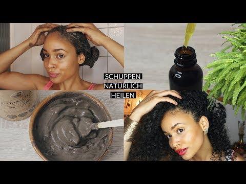Natürliche Mittel gegen Schuppen & juckende Kopfhaut • Haarwuchs fördern