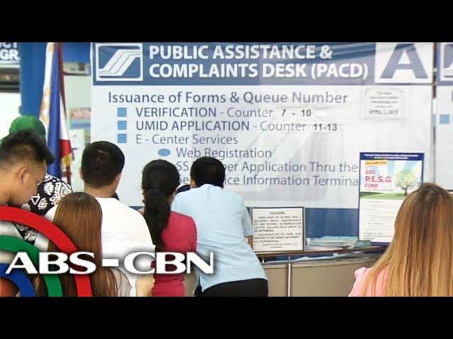 Hulog sa SSS tataas sa Abril | TV Patrol