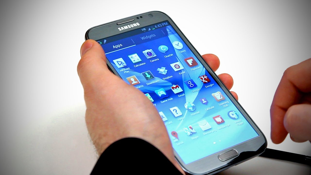 Samsung Galaxy Note 2 Unboxing thumbnail