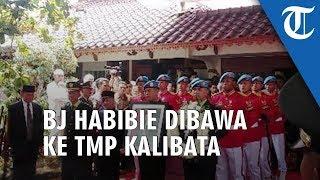 Jenazah Almarhum BJ Habibie Telah Dibawa ke TMP Kalibata