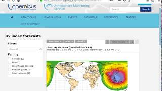 Looking at Ultraviolet Radiation (UV)  & Dangerous UV Levels Worldwide (July 11, 2018)