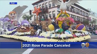 2021 Rose Parade Canceled For The First Time In 75 Years