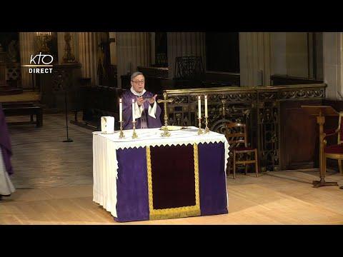 Messe du lundi 17 mars à St-Germain-l'Auxerrois