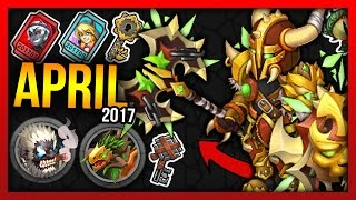 Knights and Dragons - Monthly Tickets, Edgy Raid Bosses, St.Patrick & Easter, Season 9 Shadowforged!